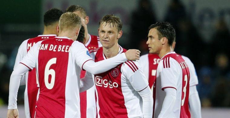Ajax boekt ruime zege bij PEC Zwolle: blessures zetten domper op overwinning