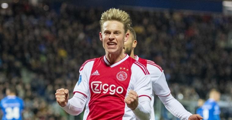 Wat vind jij van de 75 miljoen euro voor Frenkie de Jong?