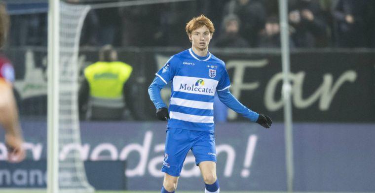De Ligt prijst PEC Zwolle-talent: Ik hoop dat hij zich zo doorontwikkelt