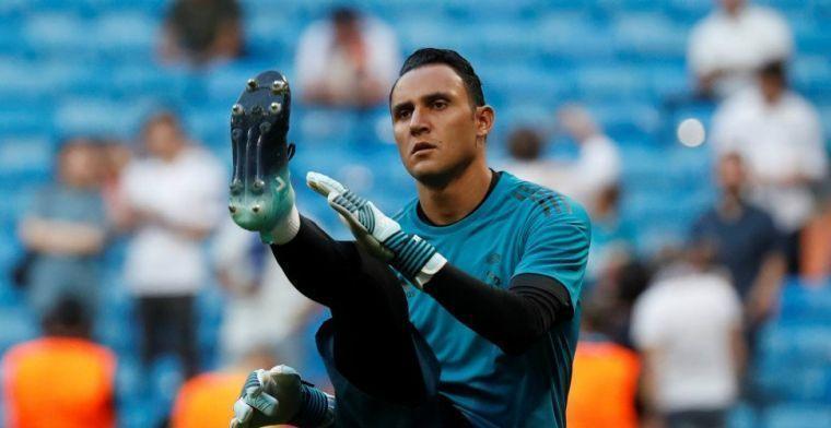 'Navas wil per se naar Engeland na ontevredenheid over reserverol bij Real'