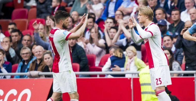 LIVE-discussie: Geblesseerde Dolberg ontbreekt bij Ajax, Ziyech zit op de bank