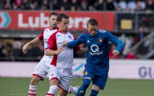 Afbeelding: FC Emmen-speler Bijl: 'Ajax en PSV kunnen hun borst natmaken'
