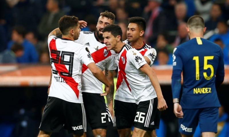 Afbeelding: River Plate klopt Boca Juniors na verlenging en wint Copa Libertadores