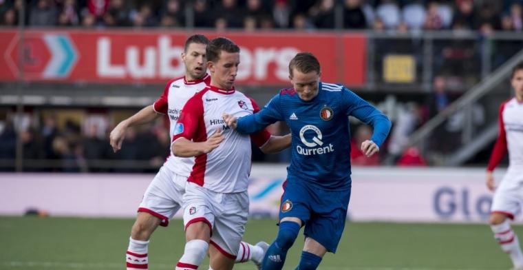 FC Emmen-speler Bijl: 'Ajax en PSV kunnen hun borst natmaken'