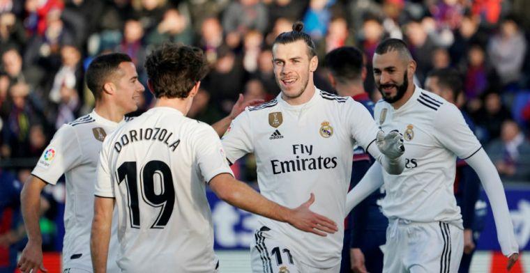 Hekkensluiter brengt Real Madrid bijna in de problemen: volley Bale beslissend