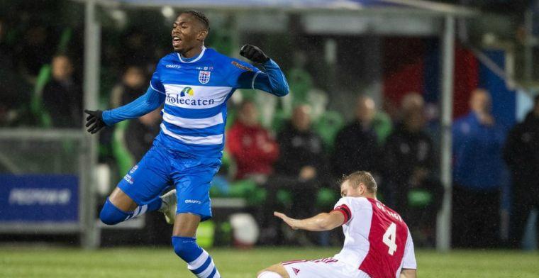 Woede en onbegrip bij PEC Zwolle: 'Ik dacht wel dat ik doorgebroken was'