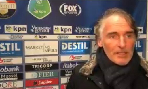 Olde Riekerink komt met niet te volgen analyse na zege Heerenveen