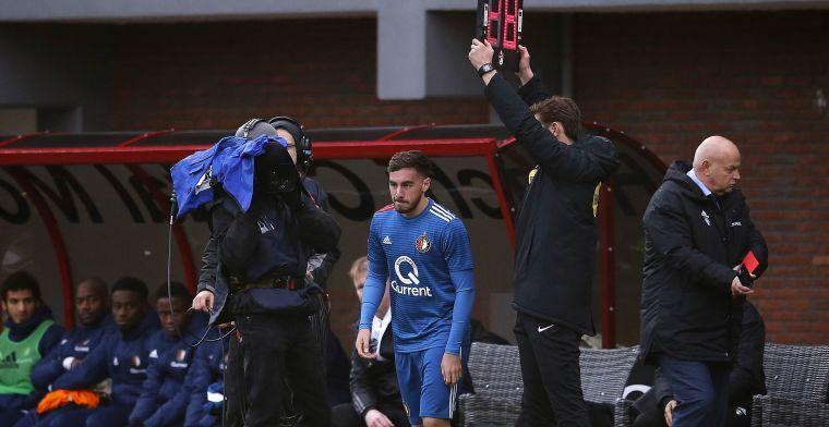 'Goede driehoek' bij Feyenoord: 'Op de training lukken die combinaties ook vaak'