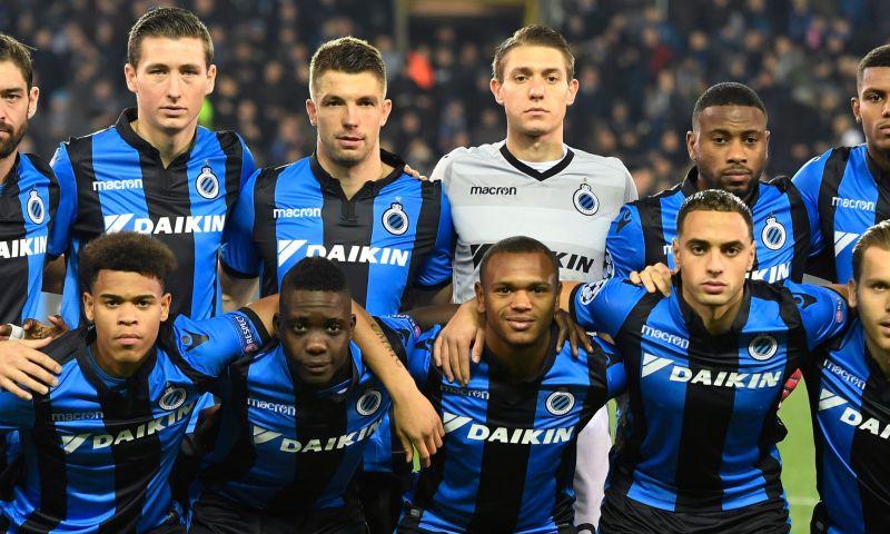 Afbeelding: Fans van Antwerp laten zich tijdens Club Brugge – Atlético Madrid horen