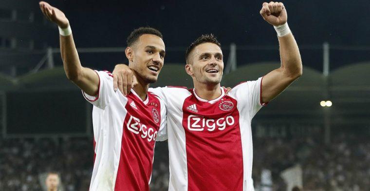 'Verwacht dat ik gewoon bij Ajax blijf, maar laat ik aan mijn zaakwaarnemer over'