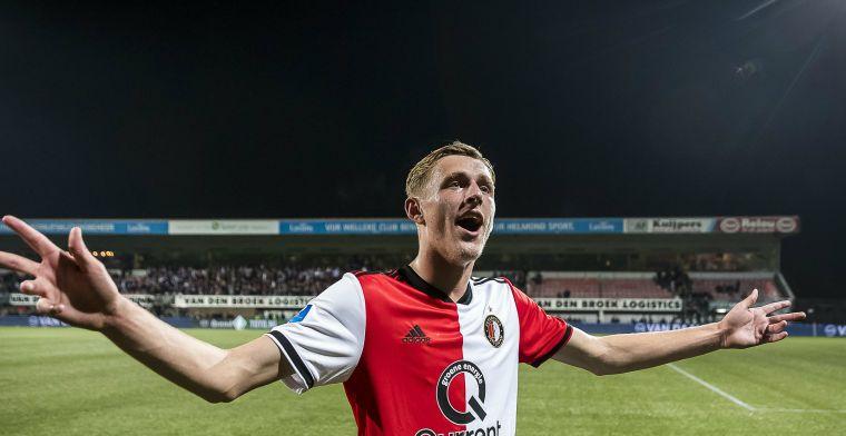 Verheugd Feyenoord bereikt akkoord met 'toekomstige vaste waarde': deal tot 2023