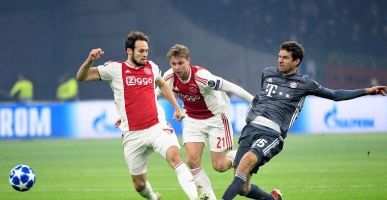 Ajax-tandem komt moeizaam op gang: 'Frenkie speelt toch wat liever vanaf links'