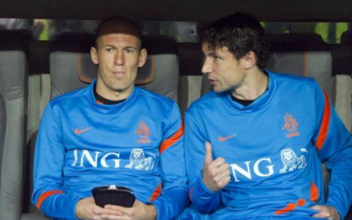 Afbeelding: Van Bommel bevestigt contact met Robben: