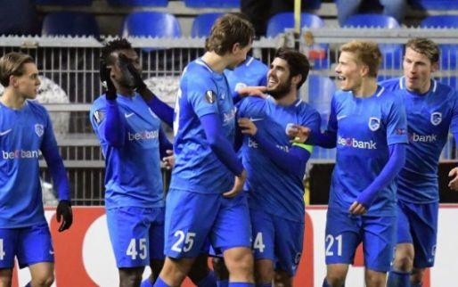 Afbeelding: Na mooie overwinning krijgen drie Genk-spelers nog beloning van UEFA