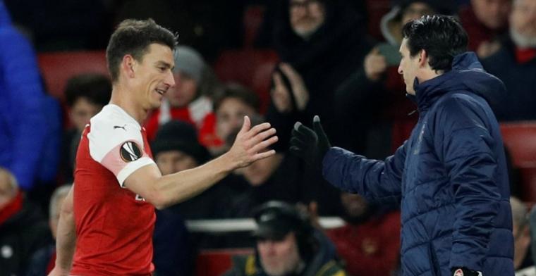Emotioneel moment voor verdediger Arsenal: Ik moest opnieuw leren lopen