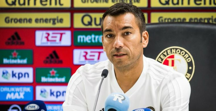 Van Bronckhorst zet streep door Feyenoord-duo: Niet meer beschikbaar