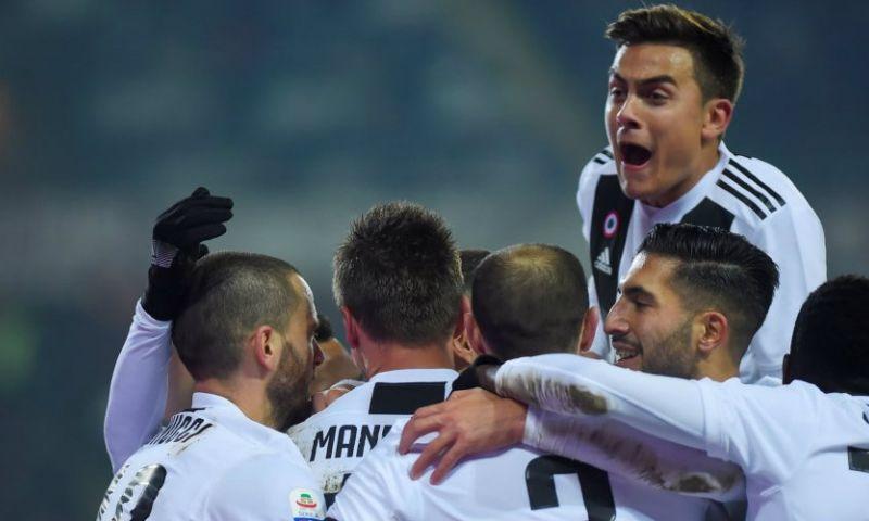 Afbeelding: Ronaldo bezorgt Juventus vanaf de stip benauwde derbyzege op Torino