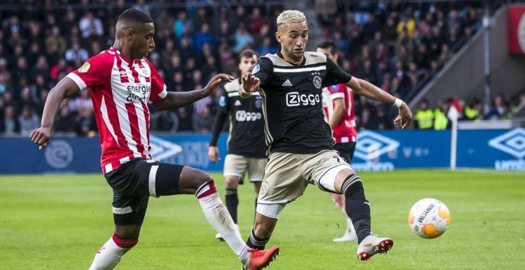 PSV én Ajax op koers voor historisch record: 'Blijven elkaar omhoog stuwen'