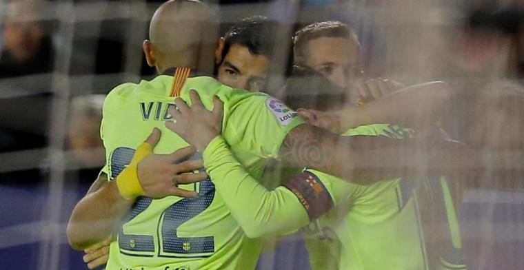 Barcelona haalt uit bij Levante mét Vermaelen in de basis: Messi schittert