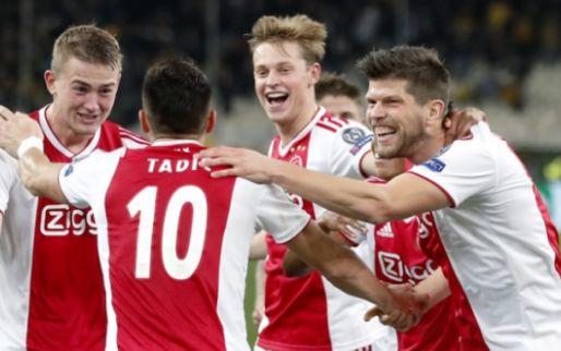 Prachtig affiche voor Ajax: Amsterdammers nemen het op tegen Real Madrid