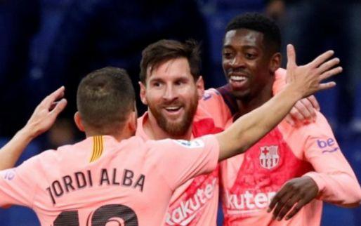 Afbeelding: Fraai gebaar Messi: