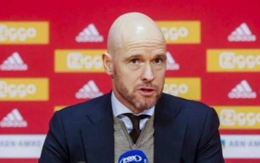 Ten Hag: 'We staan voor een geweldige uitdaging, duels met Bayern meenemen'