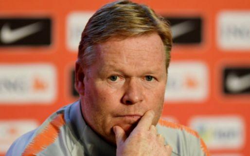 Koeman laat zich uit over loting Ajax: 'Om meerdere redenen prachtig'