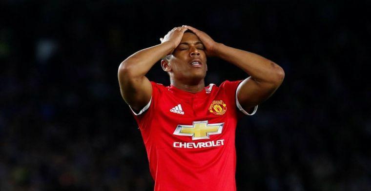 Martial ondanks contractverlenging richting uitgang: 'Ik ben erg pessimistisch'