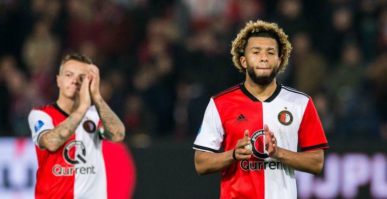 Matchwinner Vilhena lacht na goal tegen Utrecht: 'Vroeger spits geweest hè'