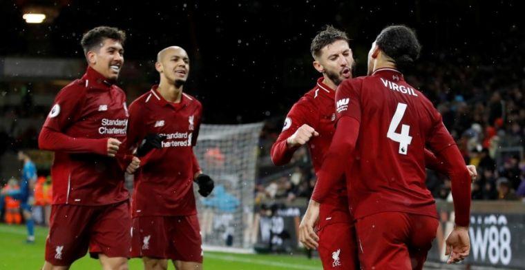 Liverpool gaat als koploper Kerst in dankzij uitblinkers Salah en Van Dijk