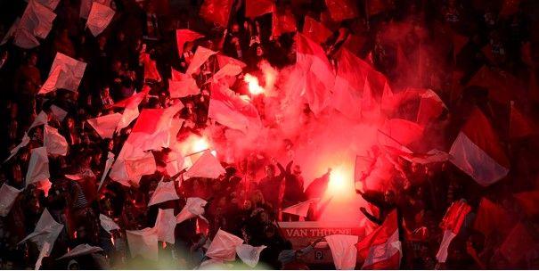 Kortrijk-fans maken het bont in Mechelen: Wellicht was er een gevecht gepland