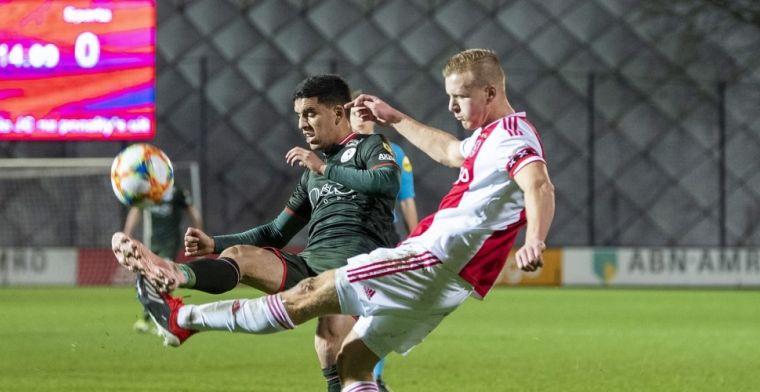 Sparta verspeelt wintertitel bij Jong Ajax; Go Ahead en Twente profiteren