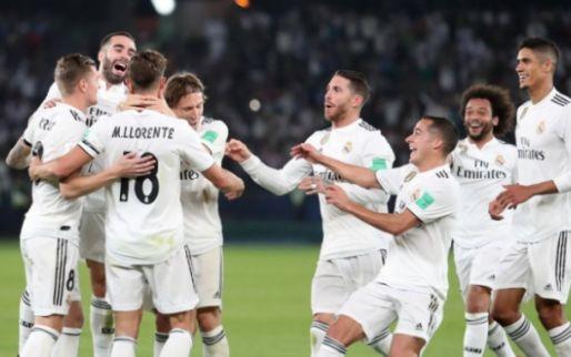 Afbeelding: Real Madrid wint weer WK voor clubs: eerste prijs voor Courtois bij de Koninklijke