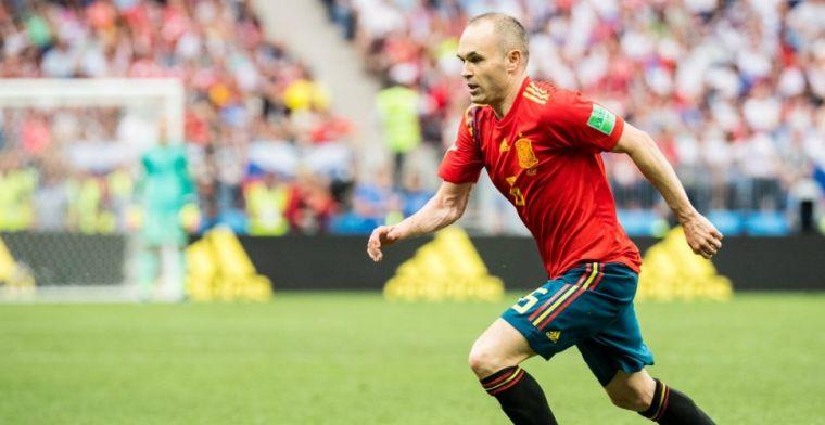 Iniesta kan als trainer terug naar Barcelona: 'Zie mezelf wel als een coach'