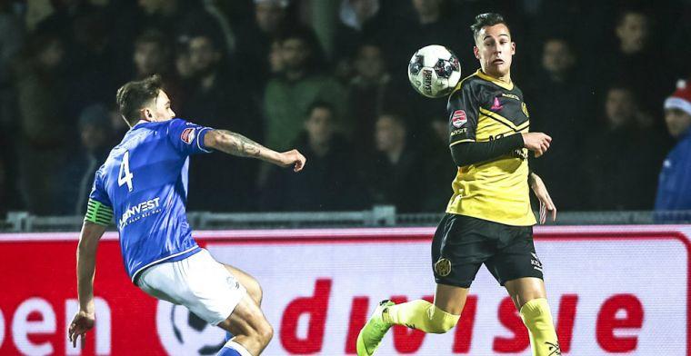 Kater voor Roda na 'bijna-bekerstunt': FC Den Bosch pakt wintertitel