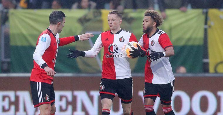 Feyenoord eindigt 2018 in mineur: ook puntenverlies in Den Haag