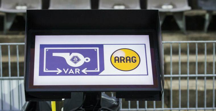 Een half jaar VAR: drie extra punten voor Ajax, drie plekken minder voor Willem II