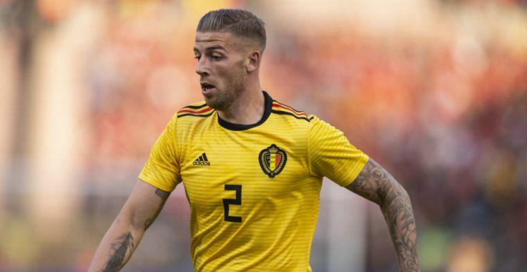 'Optie in Alderweireld-contract gelicht, gelimiteerde transfersom geactiveerd'