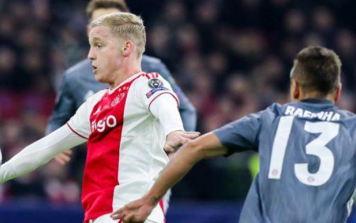 Afbeelding: Sky Sports: 'Ajax-revelatie moet Rode Duivel komen vervangen'