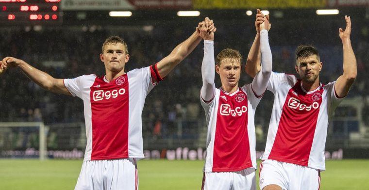 Huntelaar onder de indruk van Ajax-toptalent: 'Hij kan de wereldtop halen'