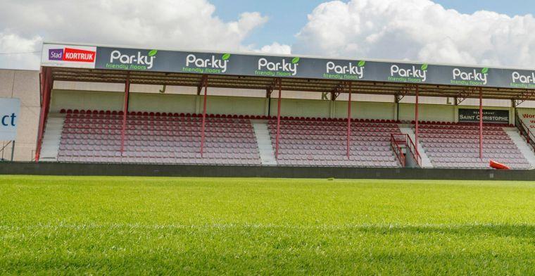 KV Kortrijk komt met update over stadionplannen: Zo snel mogelijk verwezenlijken