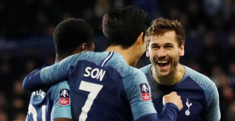 Reserves blinken uit bij Tottenham: vierdeklasser ruim onderuit in FA Cup