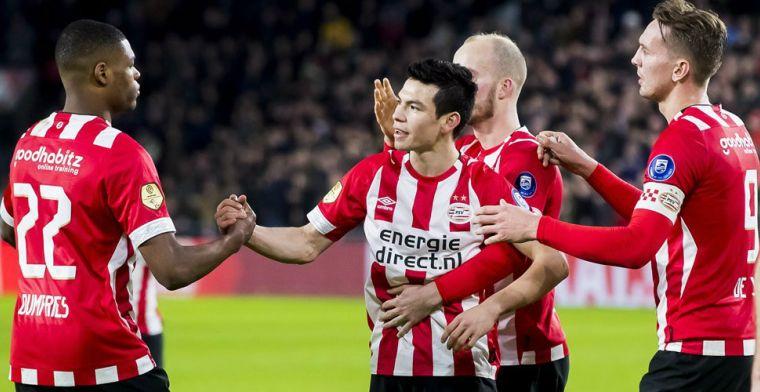 PSV begint vanwege privé-omstandigheden zonder Lozano aan trainingskamp
