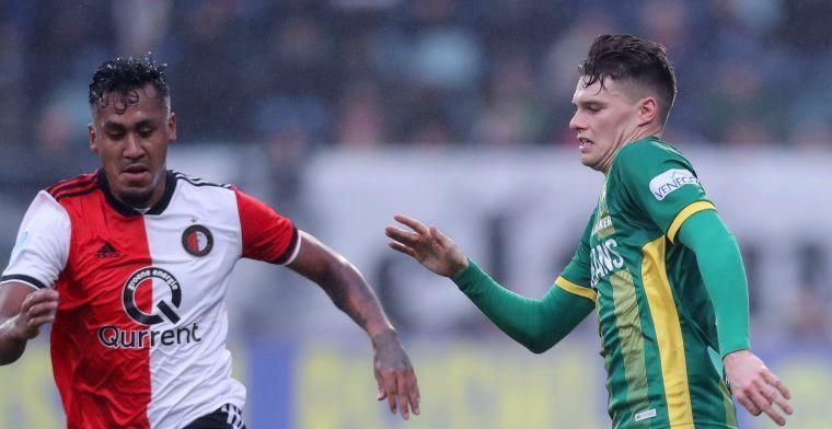 'Tapia wil winters Feyenoord-vertrek: geïnteresseerd FC Groningen drukt niet door'