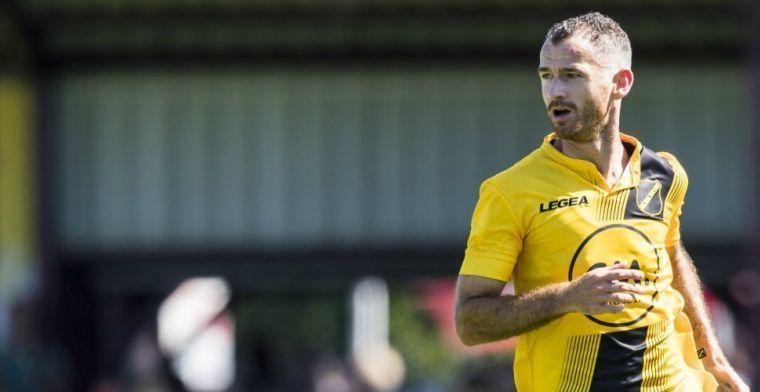 NAC ontbindt contract van middenvelder: 'Goed moment voor mij om te stoppen'