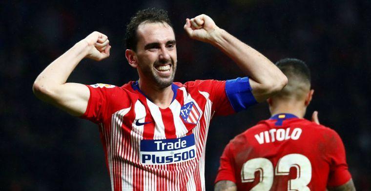 'Godín vertrekt bij Atlético: Inter bijna rond met ervaren topverdediger'