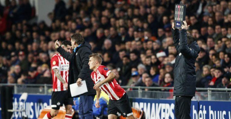 Sadilek hoopt op lang verblijf bij PSV: 'Een club waar ik heel lang wil spelen'