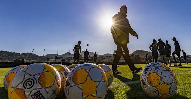 Eredivisie oefent: overzicht van trainingskampen, oefenwedstrijden en uitslagen
