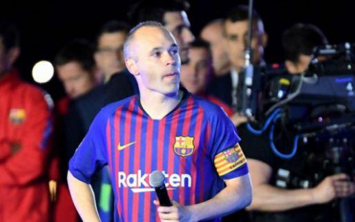 Afbeelding: Iniesta op vingers getikt door voormalig Roda-speler: 'Dit is fucking racistisch'