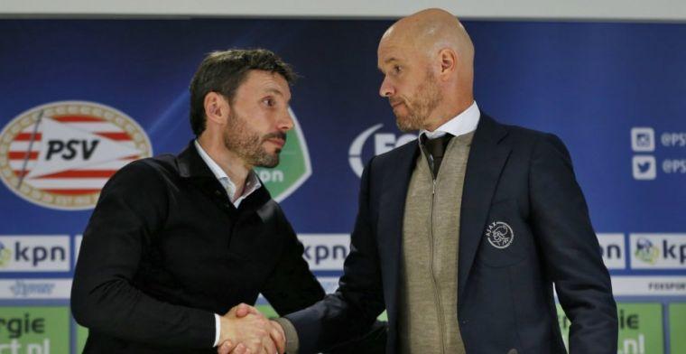 'In tegenstelling tot De Jong is Overmars bij Ajax pro-actief bezig met transfers'